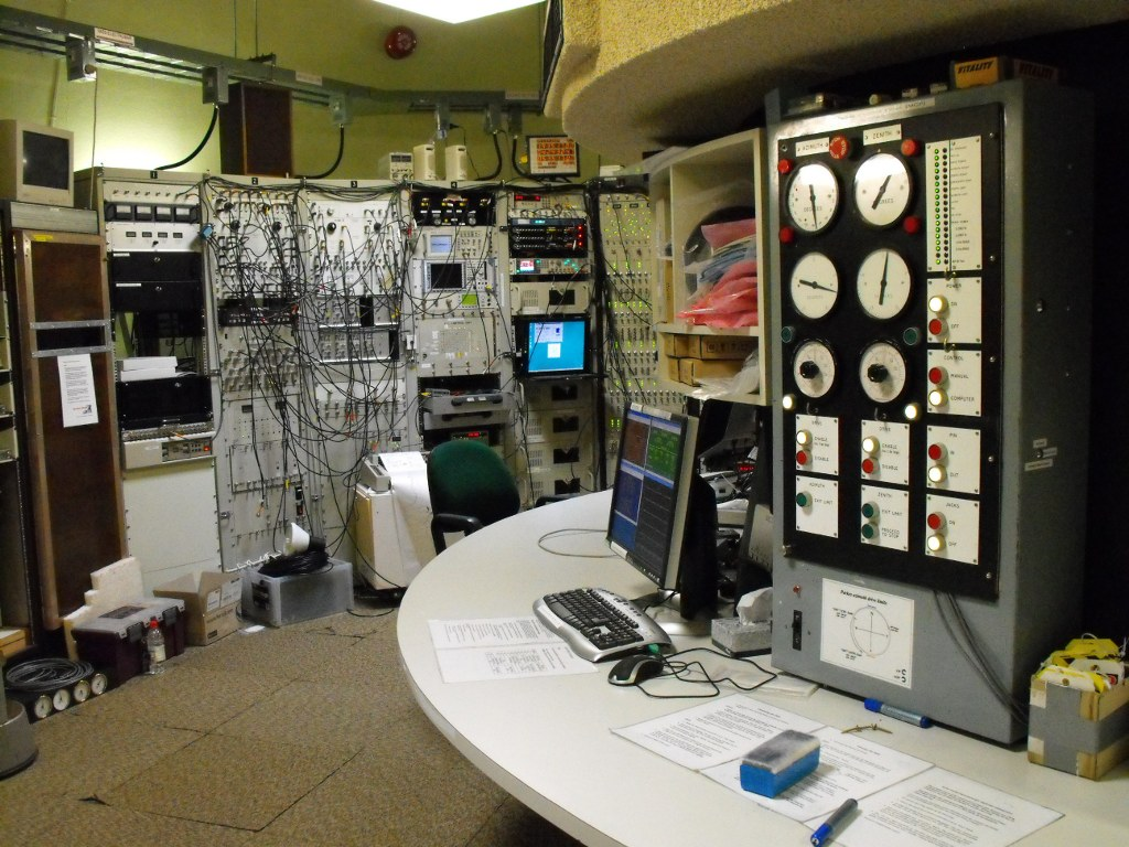 The upper control room at Parkes