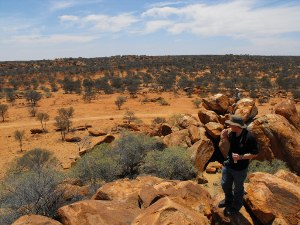 Rob and John at the Granites, Meekatharra