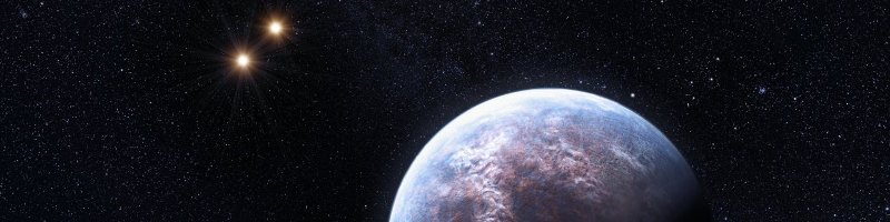 Artists impression of the Earth-like planet Gliese 667 C discovered by HARPS