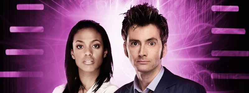 The Tenth Doctor and Martha Jones